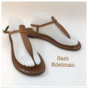 Sam Edelman Brown Thong Sandals Size 10